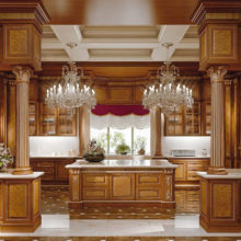 The Kitchens - Domus Aurea - Chi desidera l'esclusività vuole per il proprio spazio cucina una seduzione che lo racconti anche attraverso il fascino dei materiali riscoperti ed interpretati