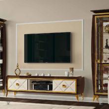 Rampoldi Casa - LUMIERE LIVING - Fascino e design assumono nuove valenze e inventano nuovi orizzonti domestici; il living di Lumière Collection è perfetto nella sua raffinata eleganza