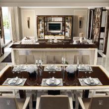 Rampoldi Casa - LUMIERE DINING - Il nuovo lifestyle per la casa contemporanea si basa sulla raffinatezza ed il design