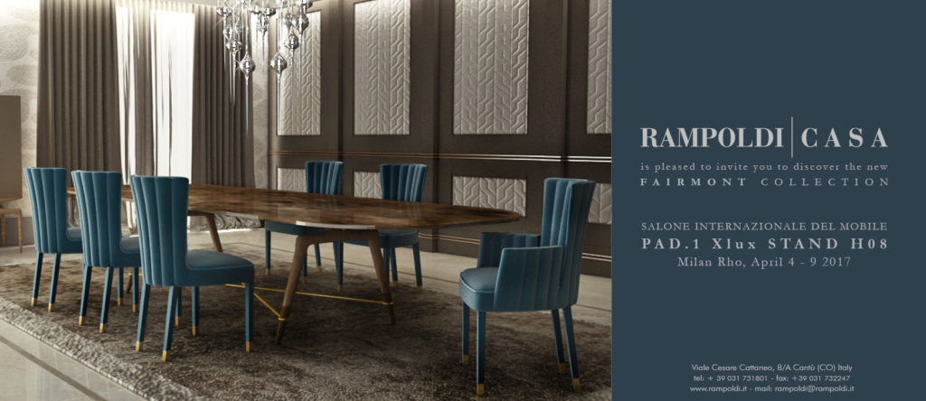 Rampoldi presenta: Rampoldi Casa / FAIRMONT COLLECTION