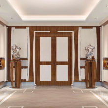 Hall Contemporary - Lumière Entrance - Rampoldi Casa