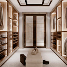 Wardrobe Contemporary - Walk-in closet Class - Rampoldi Casa