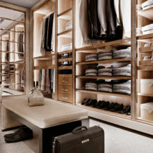 Wardrobe Contemporary - Walk-in closet 2 Class - Rampoldi Casa