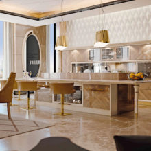 Kitchen Contemporary - Cucina Divina Collection - Rampoldi Casa