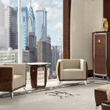 Bedroom Contemporary - Settimanale, poltrone, tavolino laterale Lumière - Rampoldi Casa