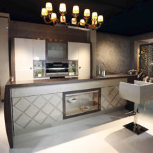 Kitchen Contemporary - Lumière Collection a Milano Design Week 2016 - Rampoldi Casa