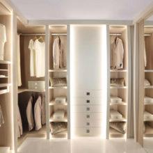 Wardrobe Contemporary - Lumière Walk-in Closet