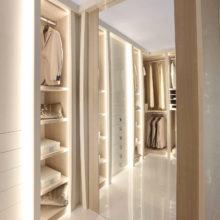 Wardrobe Contemporary - Lumière Walk-in Closet dettaglio